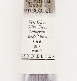 Sennelier, Aquarelle Watercolor Paint, Olive Green, 813,10ml Tube, Series 3