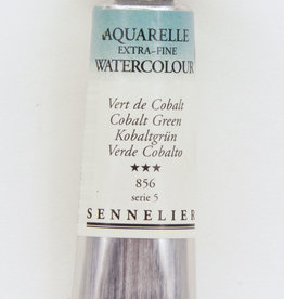 Sennelier, Aquarelle Watercolor Paint, Cobalt Green, 856, 10ml Tube, Series 5