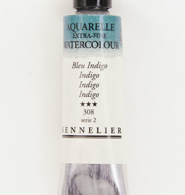 Sennelier, Aquarelle Watercolor Paint, Indigo, 308,10ml Tube, Series 2