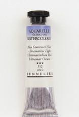 Sennelier, Aquarelle Watercolor Paint, Ultramarine Light, 312,10ml Tube, Series 2