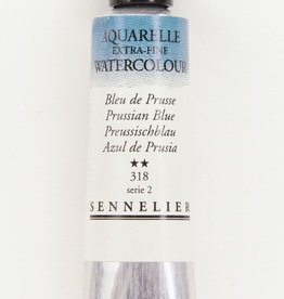 Sennelier, Aquarelle Watercolor Paint, Prussian Blue, 318,10ml Tube, Series 2