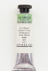 Sennelier, Aquarelle Watercolor Paint, Hooker's Green, 809,10ml Tube, Series 2