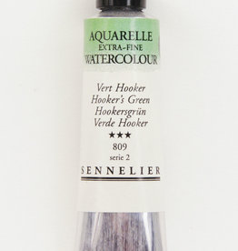 Sennelier, Aquarelle Watercolor Paint, Hooker's Green, 809,10ml Tube, Series 2