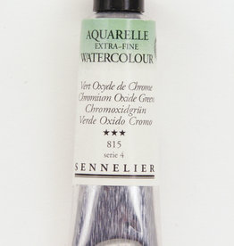 Sennelier, Aquarelle Watercolor Paint, Chromium Oxide Green, 815, 10ml Tube, Series 3