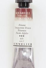 Sennelier, Aquarelle Watercolor Paint, Transparent Brown, 435,10ml Tube, Series 2