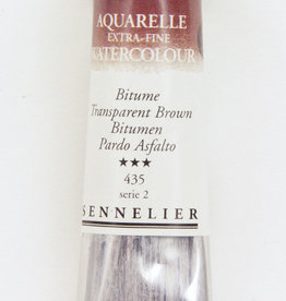 Sennelier, Aquarelle Watercolor Paint, Transparent Brown, 435,10ml Tube, Series 2