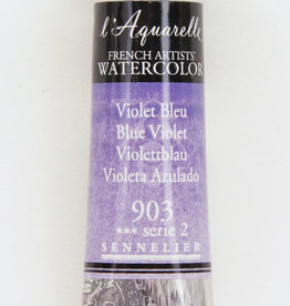 Sennelier, Aquarelle Watercolor Paint, Blue Violet,  903,10ml Tube, Series 2