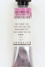 Sennelier, Aquarelle Watercolor Paint, Cobalt Violet Light Hue, 911, 10ml Tube, Series 5