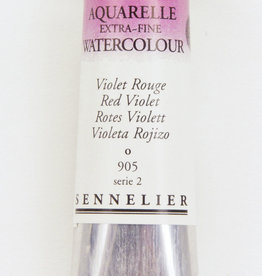 Sennelier, Aquarelle Watercolor Paint, Red Violet, 905, 10ml Tube, Series 2
