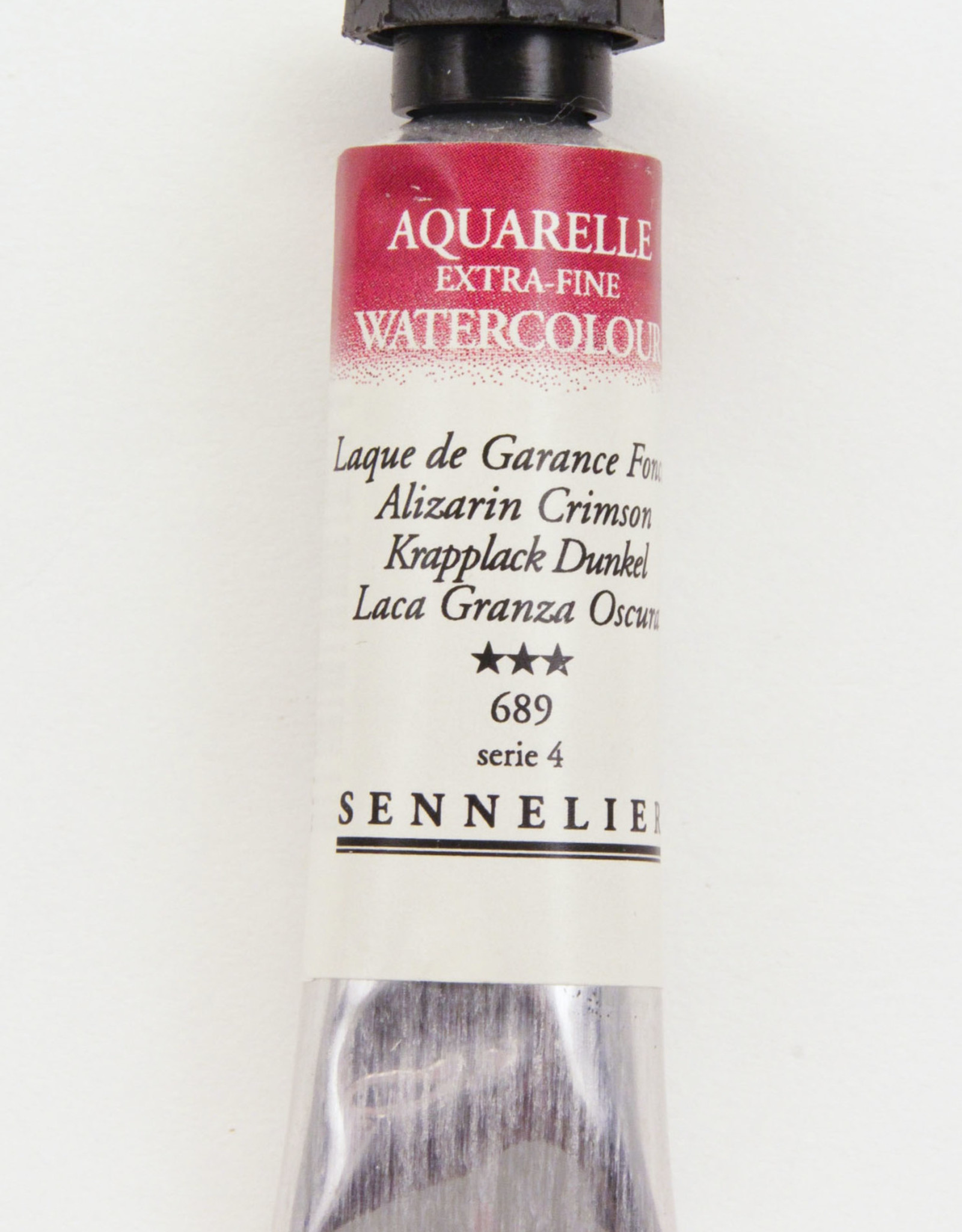 Sennelier, Aquarelle Watercolor Paint, Alizarin Crimson, 689,10ml Tube, Series 3