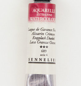 France Sennelier, Aquarelle Watercolor Paint, Alizarin Crimson, 689,10ml Tube, Series 3