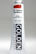Golden, Heavy Body Acrylic Paint, C.P. Cadmium Red Medium, Series 9, Tube, 2fl.oz.