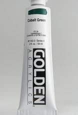 Golden, Heavy Body Acrylic Paint, Cobalt Green, Series 4, Tube, 2fl.oz.