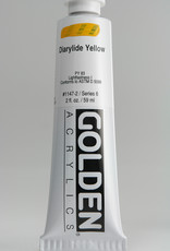 Golden, Heavy Body Acrylic Paint, Diarylide Yellow, Series 6, Tube, 2fl.oz.