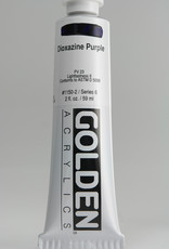 Golden, Heavy Body Acrylic Paint, Dioxazine Purple, Series 6, Tube, 2fl.oz.
