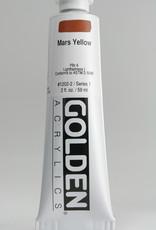 Golden, Heavy Body Acrylic Paint, Mars Yellow, Series 1, Tube, 2fl.oz.
