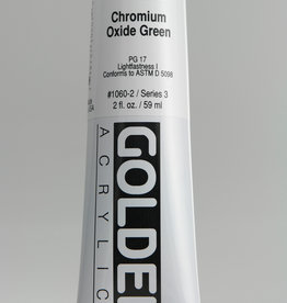 Golden, Heavy Body Acrylic Paint, Chromium Oxide Green, Series 3, Tube, 2fl.oz.