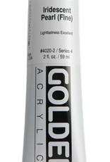 Golden, Heavy Body Acrylic Paint, Iridescent Pearl Fine, Series 4, Tube, 2fl.oz.