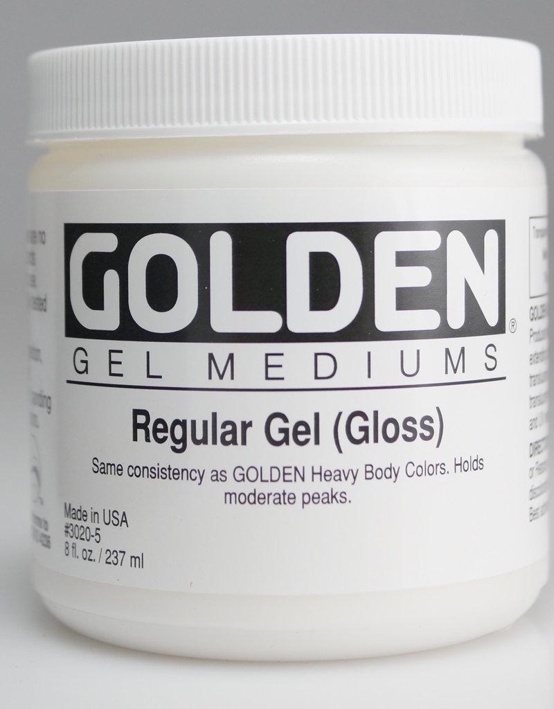 Golden, Regular Gel Medium, Gloss, 8oz Jar