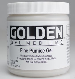 Golden, Fine Pumice Gel, Medium, 8 oz