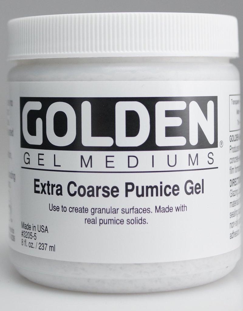 Golden, Extra Coarse Pumice Gel, Medium, 8 oz