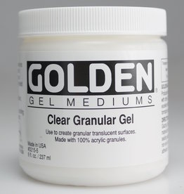 Golden, Clear Granular Gel, Medium, 8 oz