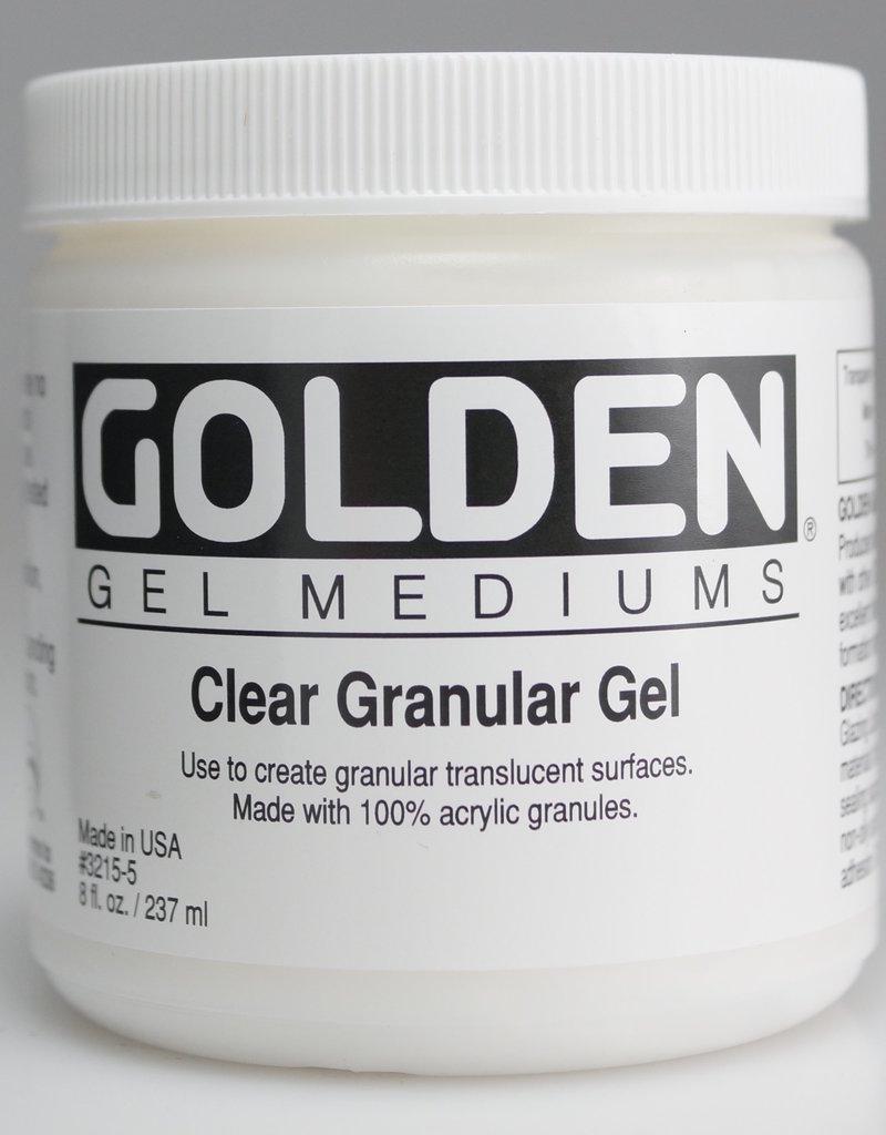 Golden, Clear Granular Gel, Medium, 8 oz