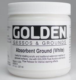 Golden, Absorbent Ground White, 8oz Jar