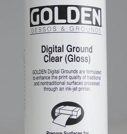 Golden, Digital Ground Clear, Gloss, Medium, 8 oz