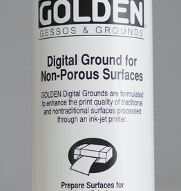 Golden, Digital Ground for Non Porous Surfaces, Clear, Gloss, Medium, 8 oz