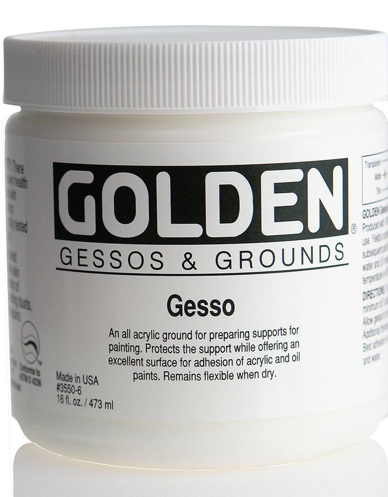 Golden, Gesso Ground, 16 Fl Oz. Jar