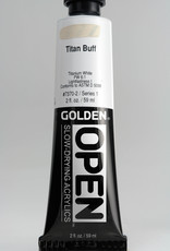 Golden OPEN Acrylic Paint, Titan Buff, Series 1, Tube (2fl.oz.)