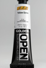 Golden OPEN, Acrylic Paint, Yellow Ochre, Series 1, Tube (2fl.oz.)