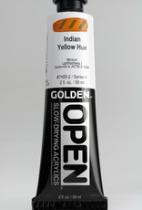 Golden OPEN, Acrylic Paint, Indian Yellow Hue, Series 4, Tube (2fl.oz.)