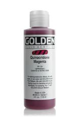 Golden Fluid Acrylic Paint, Quinacridone Magenta, Series 7, 4fl.oz, Bottle