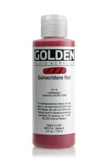 Golden Fluid Acrylic Paint, Quinacridone Red, Series 6, 4fl.oz, Bottle