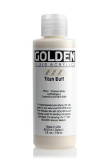 Golden Fluid Acrylic Paint, Titan Buff, Series 1, 4fl.oz, Bottle