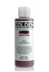 Golden Fluid Acrylic Paint, Violet Oxide, Series 1, 4fl.oz, Bottle