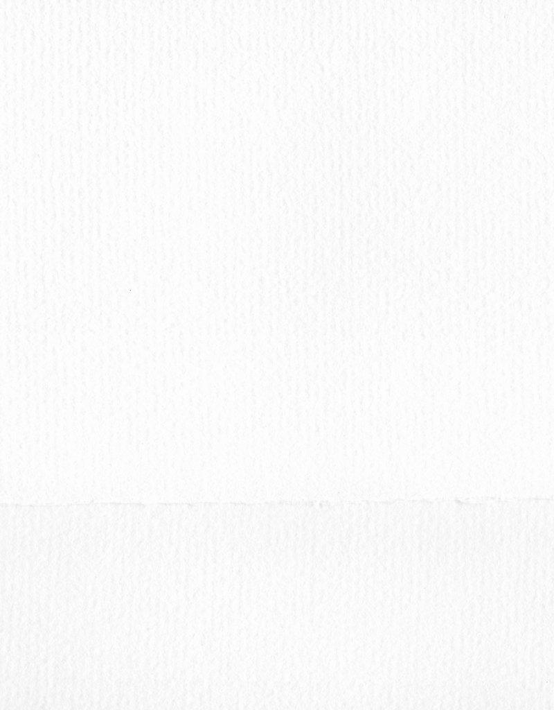 "German Bugra, Bright White #315, 33"" x 41"" 130 gsm"