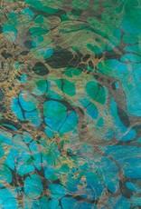 "Momi Marbled Tidal Wave, 25"" x 36"", 30 gram"