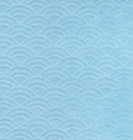 "Japan Uminami Lace Baby Blue, 21"" x 31"""
