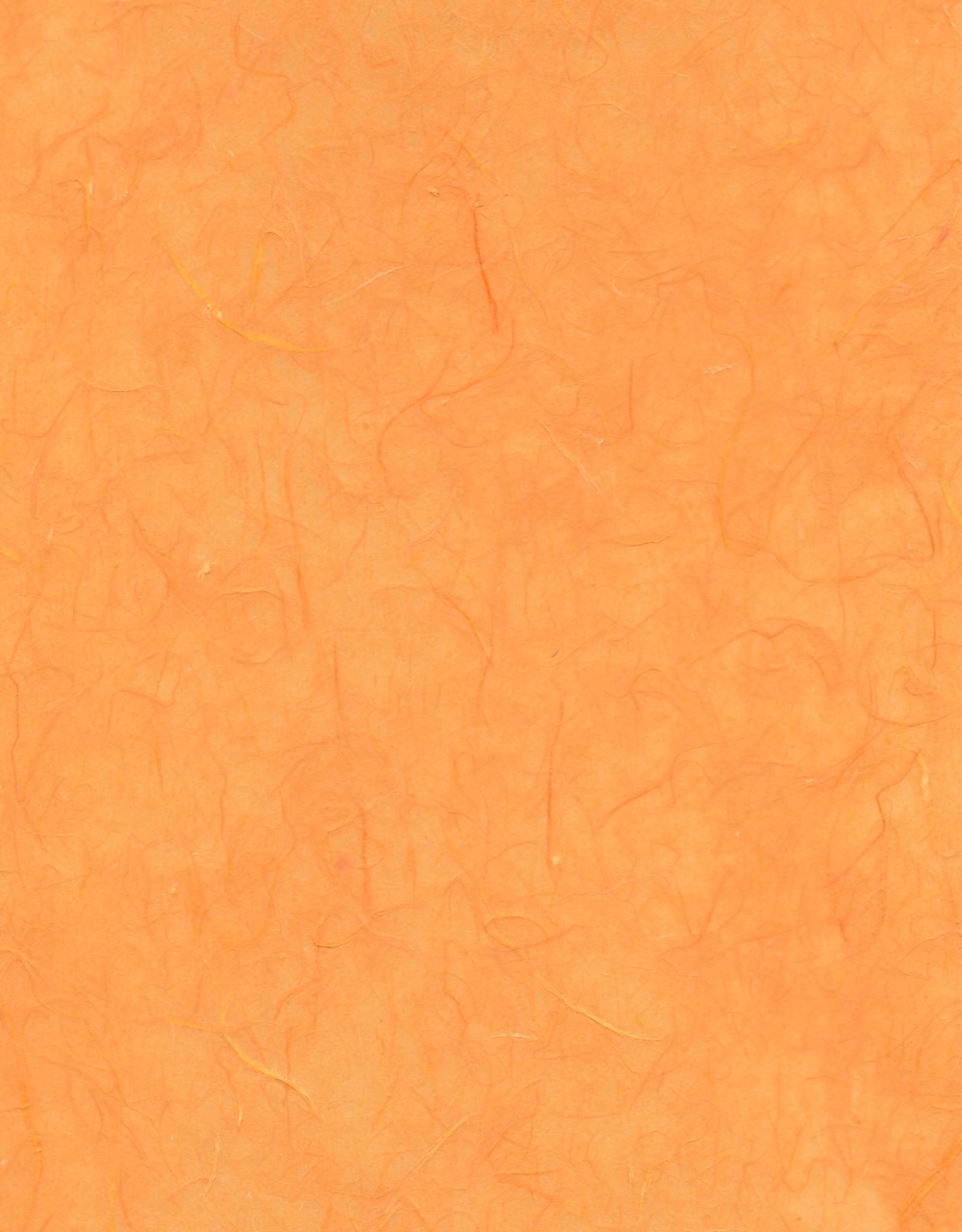 "Yun Long, Orange, 30"" x 37"""