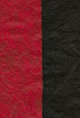 "Thai Reversible Black/Red, 23"" x 35"""