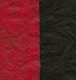 "Thai Reversible Black/Red, 23"" x 35"""