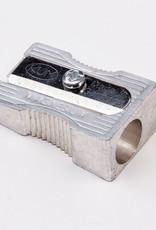 Metal Pencil Sharpener, 1 Hole (Magnesium-Alloy Metal Wedge)