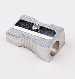 Metal Pencil Sharpener, 1 Hole (Magnesium-Alloy Metal Wedge)