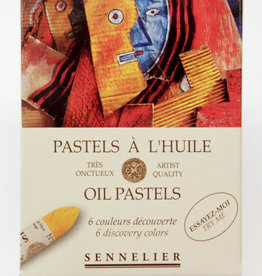 Sennelier, Discovery Oil Pastel Cardboard Set of 6