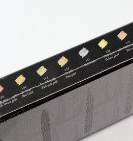 France Sennelier, Iridescent Oil Pastel Cardboard Set of 12