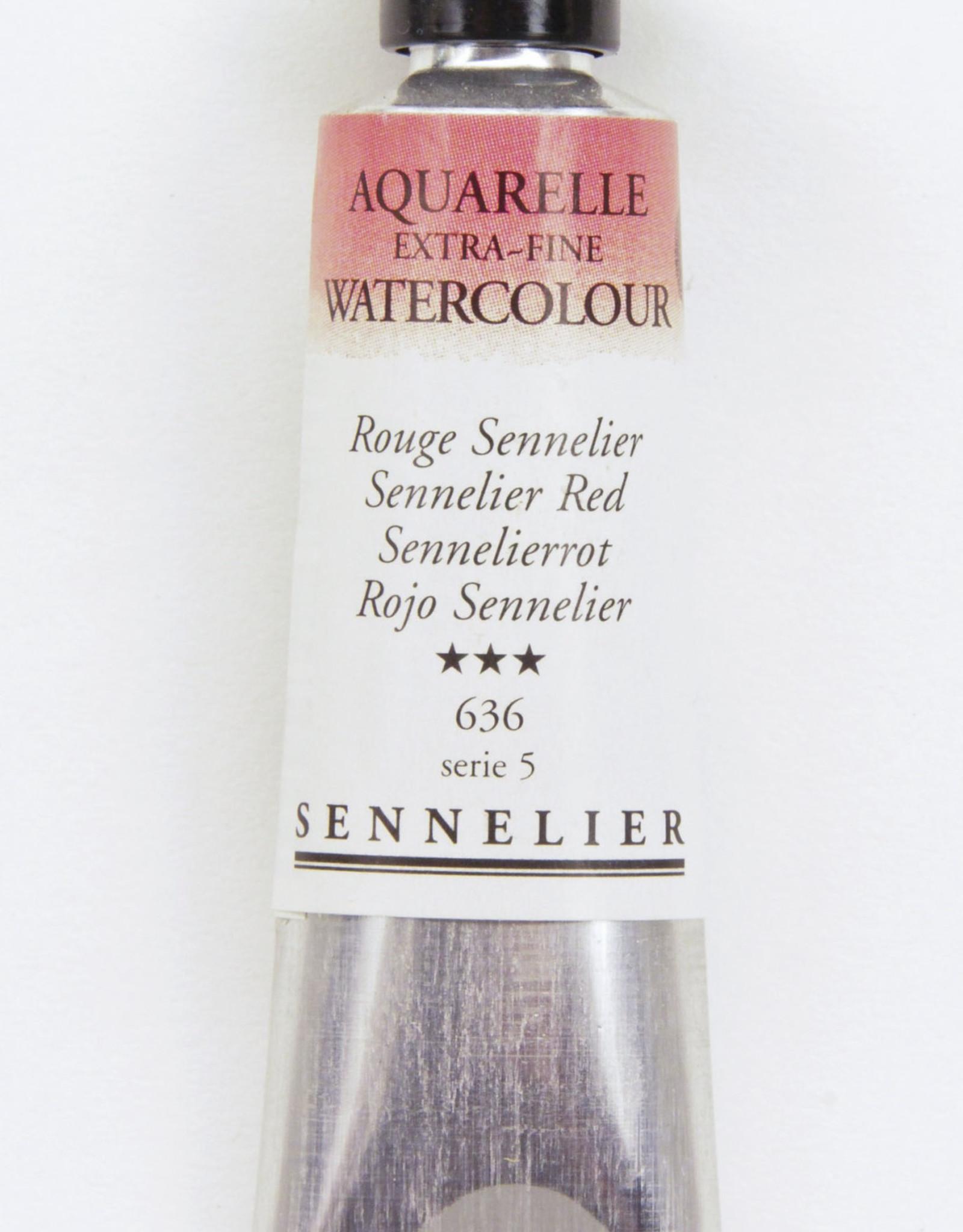 Sennelier, Aquarelle Watercolor Paint, Sennelier Red, 636,10ml Tube, Series 5