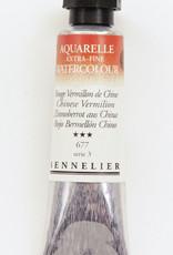 Sennelier, Aquarelle Watercolor Paint, Chinese Vermilion, 677,10ml Tube, Series 3